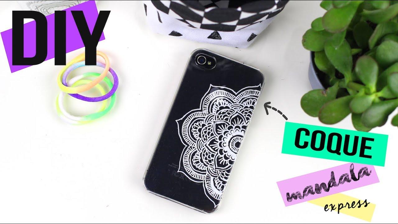 DIY EXPRESS┋CUSTOMISER UNE COQUE FACON MANDALA BOHO - PHONE CASE, DIY Francais
