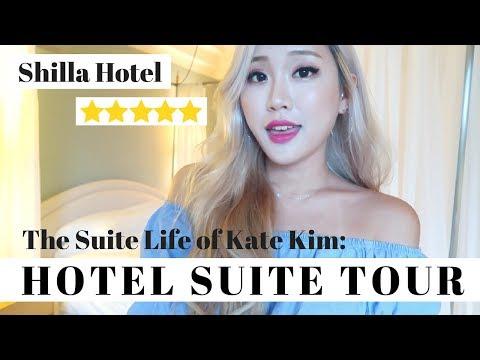THE SUITE LIFE OF KATE KIM #1: Shilla Hotel Suite Tour //  신라호텔 스위트룸 소개