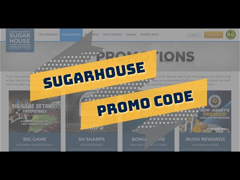 SugarHouse Promo Code PA-NJ Casino App (100% Verified) | Free $250