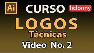 Illustrator Logos Tutorial # 2 ¿Cómo hacer un Logotipo?. liclonny