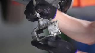 Монтаж на преден десен Спирачен апарат на MERCEDES-BENZ 190 (W201): безплатно видео