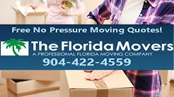 Moving companies in Jacksonville | 904-422-4559 | The Florida Movers