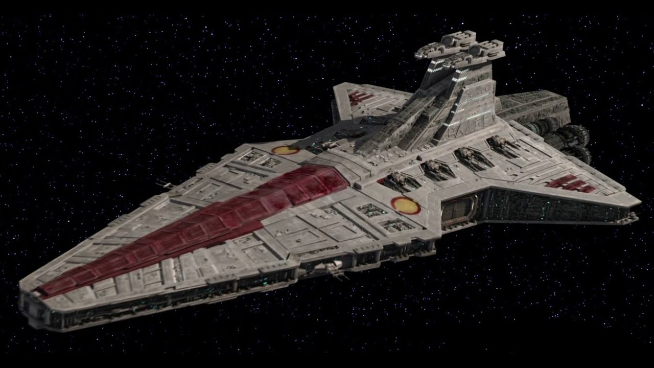 Star wars republic at war 3 when in doubt youtube - Lego croiseur imperial ...
