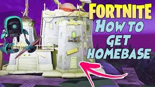 Fortnite STW: How To Get To Homebase *Glitch*