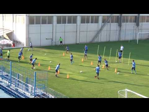 Complete soccer  warm up