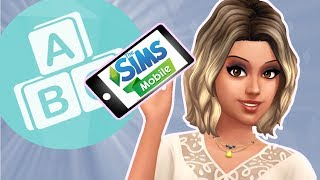 The Sims Mobile // Toddler and Another Baby! 📱