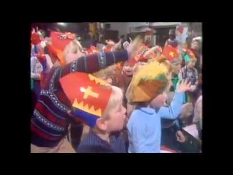 Sinterklaas met Piet en Wieteke 1977