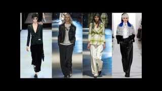 видео Модные брюки лето 2013