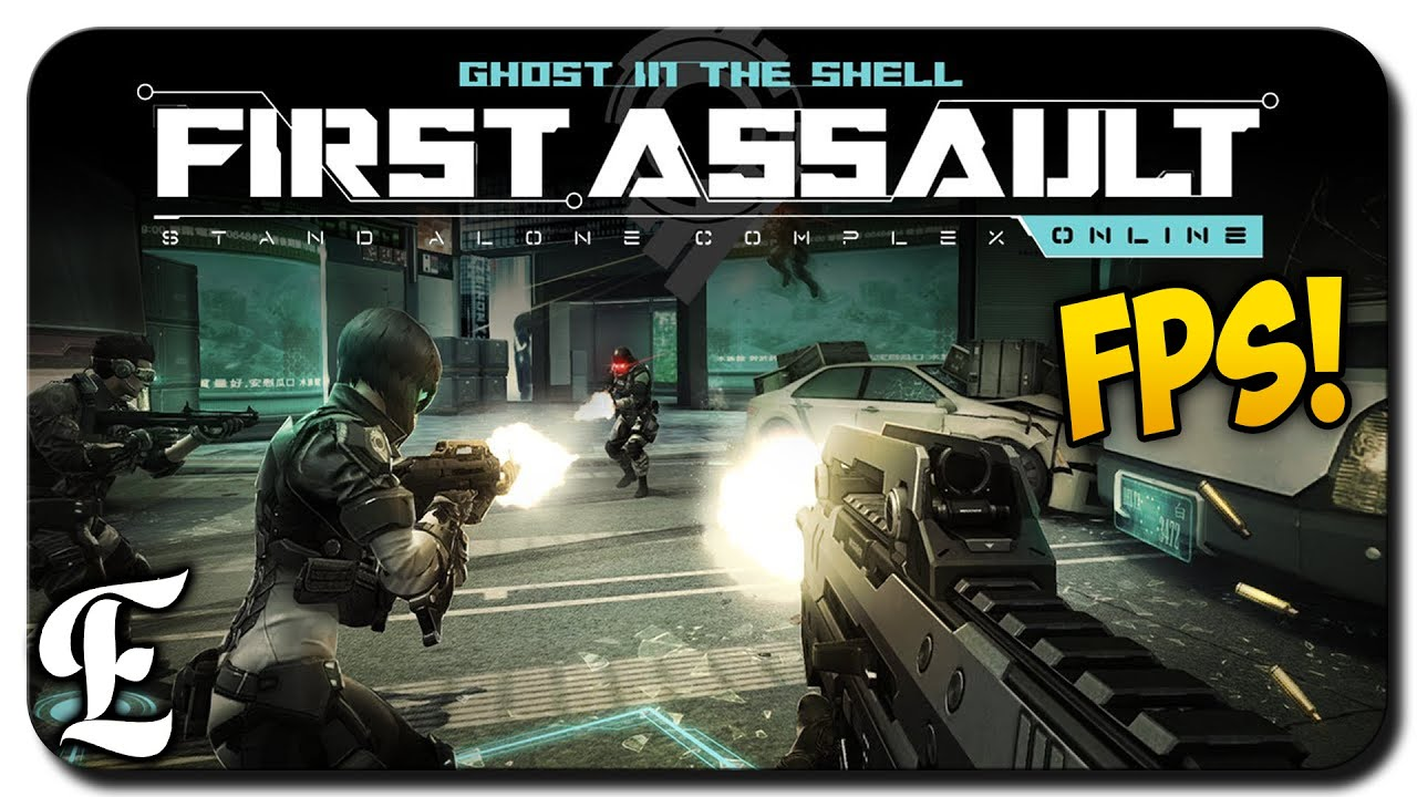 Ghost In The Shell Stand Alone Complex First Assault Online Gameplay New Fps Youtube