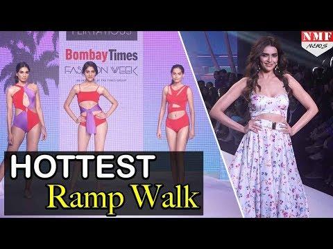 Karishma Tanna HOTTEST RAMP WALK At Bombay Times Fashion Week 2018