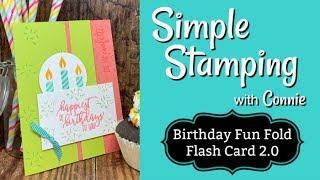 Birthday Fun Fold Flash Card 2.0