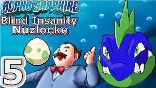 Pokémon Alpha Sapphire: BLIND: Insanity Nuzlocke: Ep 5: Life Lessons