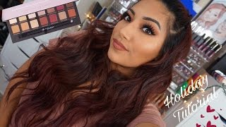 ABH Modern Renaissance Eyeshadow Holiday Makeup Tutorial & Giveaway! M