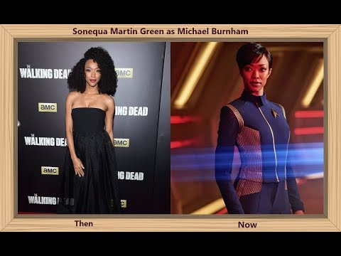 Star Trek Discovery Then and Now 2017  The Star Cast