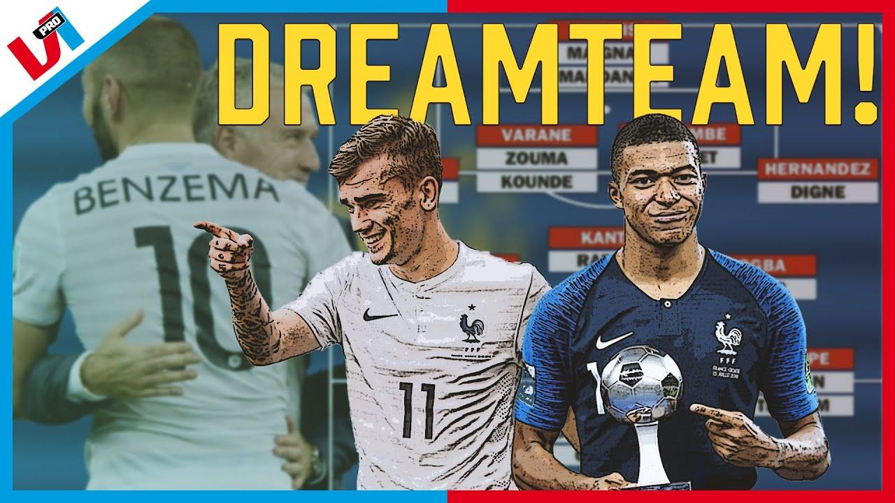 Dreamteam Met Benzema, Griezmann & Mbappé: Geen Finale = Schande!
