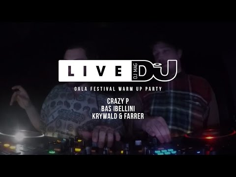 DJ Mag Live Presents GALA Festival Warm Up Party w/ Crazy P
