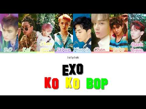 EXO KO KO BOP Lyrics [Colour Coded|HAN/ROM/ENG]