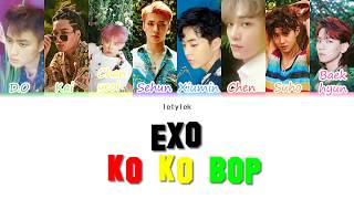 EXO KO KO BOP Lyrics