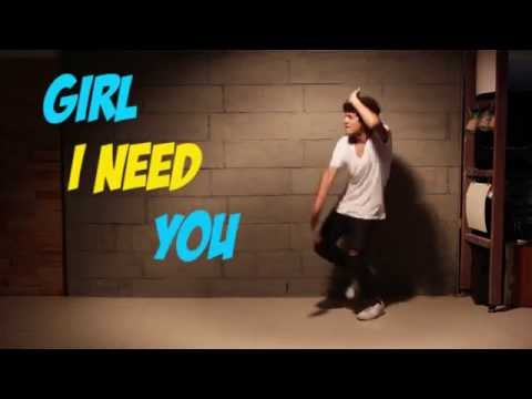 Girl I Need You | Baaghi |  Dance Performed And Choreographed By Manan Sachdeva