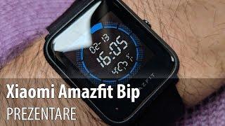 Xiaomi Amazfit Bip, unboxing și prezentare (Ceas inteligent cu funcții de fitness)