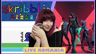 ?LIVE ROMANIA VALORANT & SKRIBBL.IO ❌ Hai sa radem impreuna! ?