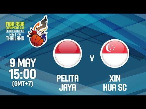 Pelita Jaya (INA) v Xin Hua SC (SGN) - Full Game - FIBA Asia Champions Cup 2018 SEABA Qualifier
