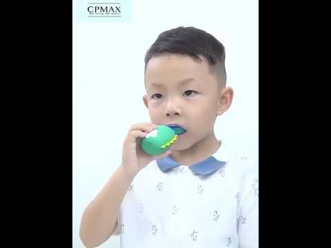CPMAX 語音智能聲波U型 REMAX 兒童電動牙刷 軟毛防水 卡通可愛小恐龍 電動牙刷 IPX7全身防水【H255】