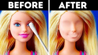 25 BARBIE HACKS FOR KIDS AND ADULTS thumbnail