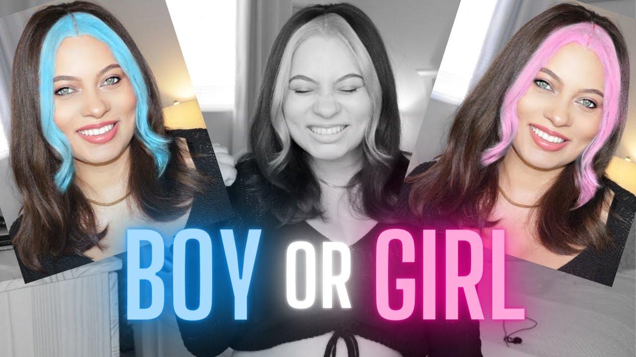 HAIR COLOR GENDER REVEAL! | Brittney Gray