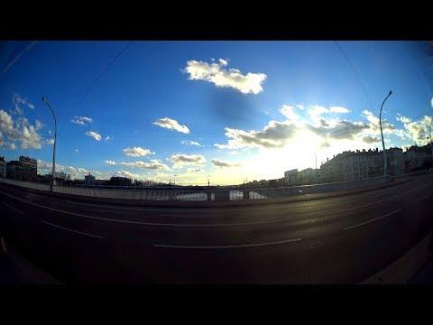 Tramway de Lyon - Line T1 - side view, Lyon, France