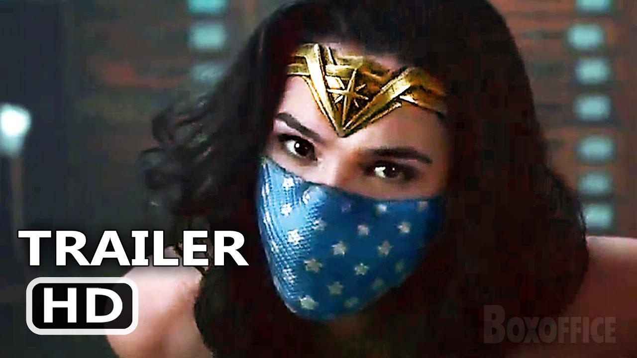 WARNER HEROES MASK UP Trailer (2021) Wonder Woman, Harley Quinn, IT