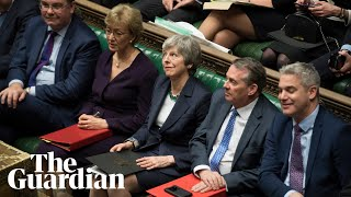Theresa May says clear majority against no-deal Brexit