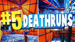 TOP 5 WORLDS BEST DEATHRUN Creative Maps In Fortnite | Fortnite Deathrun Map CODES