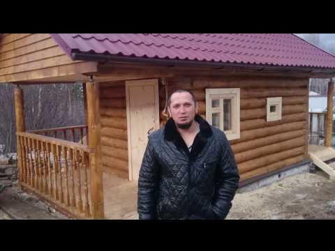 Баня под ключ 3 на 4,5 в Екатеринбурге # Первое видео от партнеров в Екатеринбурге