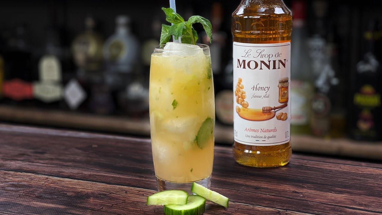Honey Syrup Cocktails Recipes - Mango, Cucumber & Honey Mule