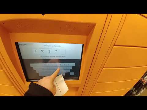 Amazon locker::: How to receive package sent to your Amazon locker