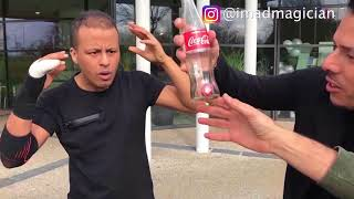Crazy Street Magic Compilation Best of Imad Magician