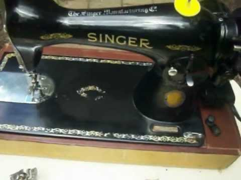 Centennial SINGER 15-91 Heavy Duty SEWING MACHINE & Extras, Works Well! For Sale