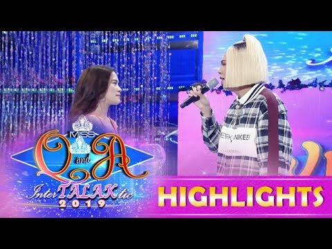 It's Showtime Miss Q and A: Vice and Ate Girl Jackque reenact famous scene from Halik