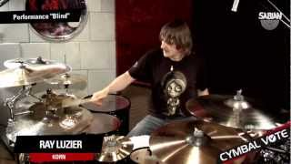 cymbal vote ray luzier performs blind