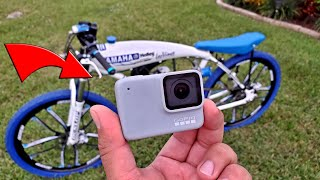 Gopro Hero 7 - On a Super Fast 80cc Motorized Bicycle - 48MPH - Great Stabilization