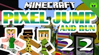 MINECRAFT Adventure Map # 22 - Pixel Jump & Run «» Let