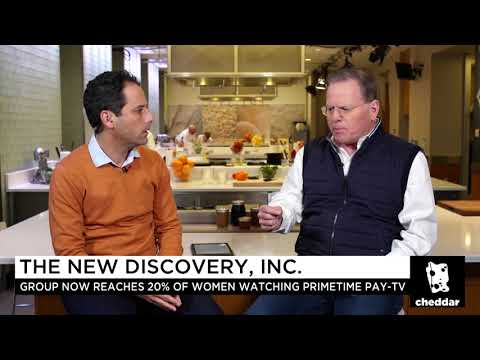 Discovery, Inc. CEO David Zaslav Dives Into the Future of Entertainment - Cheddar