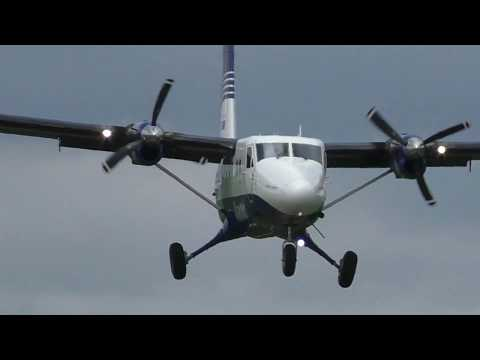Прибытие самолёта в Дальнегорск