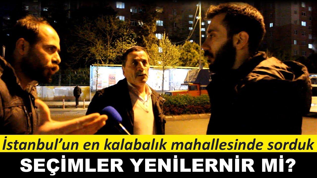 İstanbul'un en kalabalık mahallesinde sorduk: Seçimler yenilenir mi?