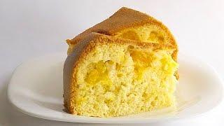 Шарлотка Апельсиновая в Мультиварке кулинарный видео рецепт