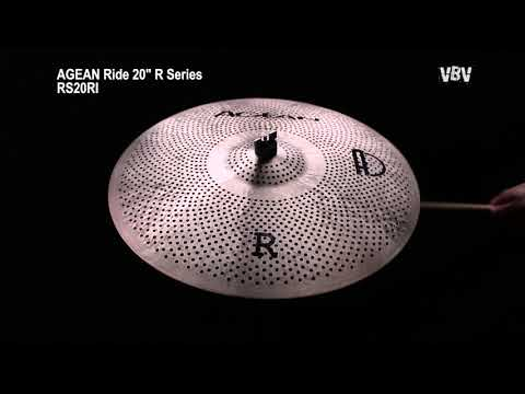 """20"""" Ride R Series - Silent Cymbal video"""