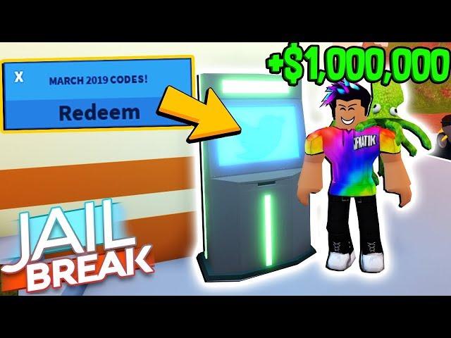 Roblox Jailbreak Code For Atm