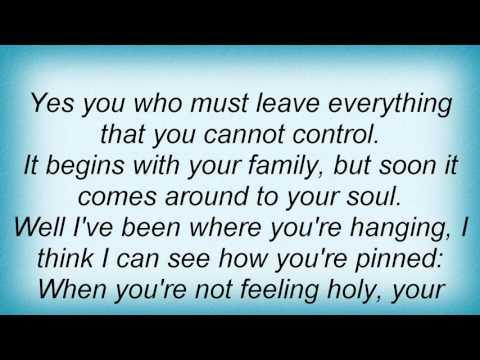Leonard Cohen - Sisters Of Mercy Lyrics
