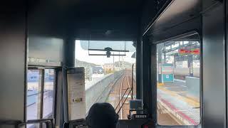JR四国 2000系 特急しまんと3号坂出駅から宇多津駅 連結シーンまで。 編成は2155+2122